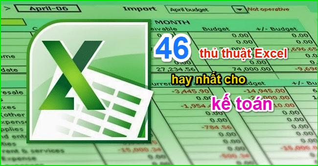 (Hình ảnh: Tổng hợp thủ thuật Excel hay nhất cho kế toán)